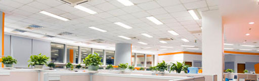 Saskatoon Commercial lighting installation with automation